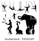 vector illustration.circus... | Shutterstock .eps vector #93324187