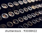 Close Up Picture Of A Keyboard...