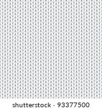 seamless knitted background | Shutterstock .eps vector #93377500
