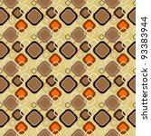 seamless retro pattern 02 | Shutterstock .eps vector #93383944