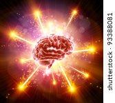 brain bang   Shutterstock .eps vector #93388081
