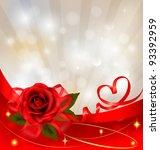 valentine s day background. red ...