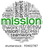 mission and business concept in ...   Shutterstock . vector #93402787
