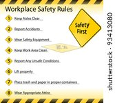An Image Of A Workplace Safety...