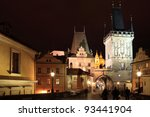 The Night View On Prague Lesse...