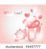 valentine s day card   Shutterstock .eps vector #93457777