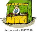 vector illustration of... | Shutterstock .eps vector #93478510