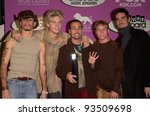 Постер, плакат: Pop group BACKSTREET BOYS
