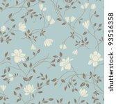 Light Floral Vintage Seamless...