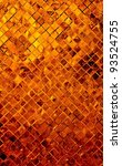grunge golden mosaic, Copper background - stock photo