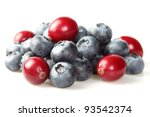 Blueberry with cranberry - stock photo