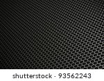 Black Iron Hexagonal Texture....