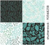 Set Of Four Seamless Pattern...