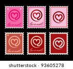 Vector Illustration Of A Stamp...