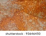background of rusted metal and... | Shutterstock . vector #93646450