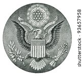 E Pluribus Unum Seal On The Us...