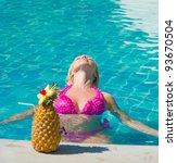 gorgeous female in luxury | Shutterstock . vector #93670504