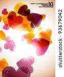 valentine background  eps10 | Shutterstock .eps vector #93679042