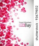 valentine background  eps10   Shutterstock .eps vector #93679852
