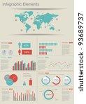 detail infographic vector... | Shutterstock .eps vector #93689737