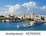 Skyline Of San Juan  Puerto Rico