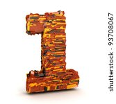 3d Number Of Plastic Parts...