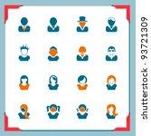 avatars | Shutterstock .eps vector #93721309