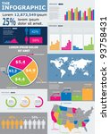 vector set elements of... | Shutterstock .eps vector #93758431