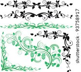 Floral Decoration And Corners