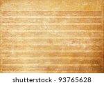 Old paper grunge music sheet texture background. - stock photo