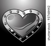 heart   Shutterstock .eps vector #93768442