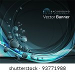 water drops background. all... | Shutterstock .eps vector #93771988