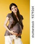 pregnant female   Shutterstock . vector #9379264
