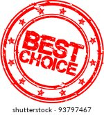 grunge best choice rubber stamp ...   Shutterstock .eps vector #93797467
