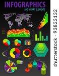 set elements of infographics....   Shutterstock .eps vector #93823132