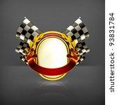 racing emblem  10eps | Shutterstock .eps vector #93831784