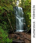 Berry Creek Falls In The...