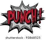 punch | Shutterstock .eps vector #93868525