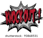 knock out | Shutterstock .eps vector #93868531
