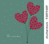 Greeting Card. Bouquet Of...