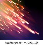 neon light rays | Shutterstock .eps vector #93923062