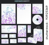 business style templates with... | Shutterstock .eps vector #93925369