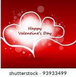 romantic illustration with...   Shutterstock .eps vector #93933499