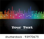 abstract colorful background.... | Shutterstock .eps vector #93970675