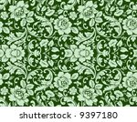 an antique floral background... | Shutterstock .eps vector #9397180