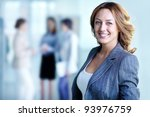 image of pretty business leader ... | Shutterstock . vector #93976759