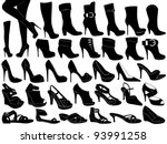shoes illustration isolated on...