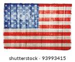 American Flag On Original...