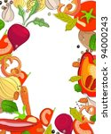 background with bright... | Shutterstock .eps vector #94000243