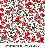 flowers classic carnation... | Shutterstock .eps vector #94013530